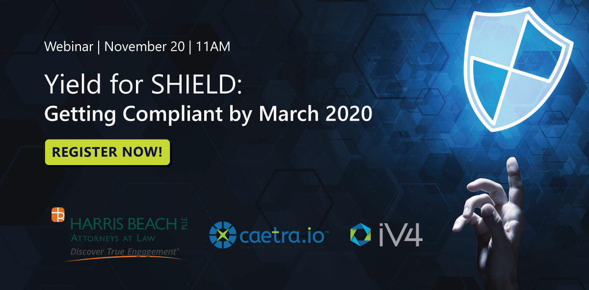 NY Shield Act Webinar details